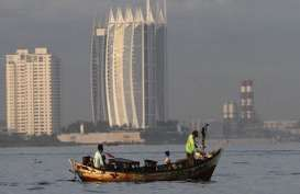 Permukaan Air Laut Jakarta Utara 1,5 Meter di Atas Daratan