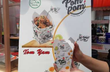 Mengintip Kelezatan Pom Pom Asian Pop Chicken