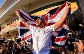 Hanya Runner-up di Austin, Lewis Hamilton Pastikan Juara Dunia F1