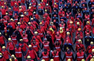 Serikat Buruh Siap Gelar Aksi Tolak Penetapan Nilai UMP 2020 DKI Jakarta