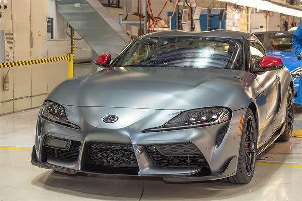 All New Toyota Supra keluar dari lini produksi di Graz, Austria.  - Toyota