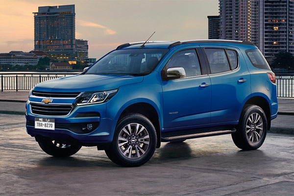 Chevrolet Trailblazer.  - Chevrolet
