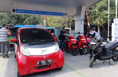 Stasiun Pengisian Kendaraan Listrik di Kalimantan Masih Minim