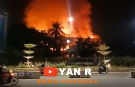 Kebakaran Habiskan Gedung Hailai Kawasan Ancol