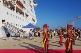 Perdana, Pelabuhan Gili Mas Mulai Disinggahi Cruise
