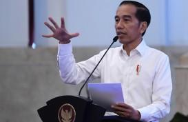 Di Depan Bankir, Presiden Jokowi Minta Bunga Kredit Diturunkan