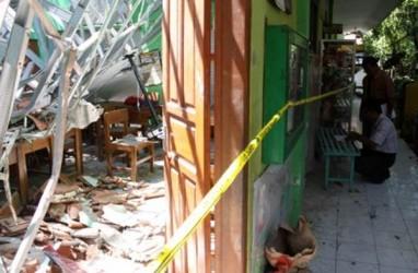 Atap SDN Gentong Pasuruan Ambruk, Polisi Duga Ini yang Terjadi