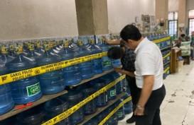 Polda Sumbar Segel Pabrik Air Minum Kemasan di 2 Lokasi