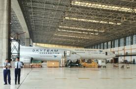 GMF Punya Fasilitas Kontrol Perawatan Pesawat Baru,…