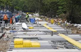 DPRD DKI Pertanyakan Anggaran Trotoar Rp1,2 Triliun