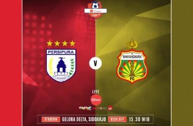 Persipura Ditekuk Bhayangkara FC 1-3, Tertahan di Posisi 3. Ini Videonya