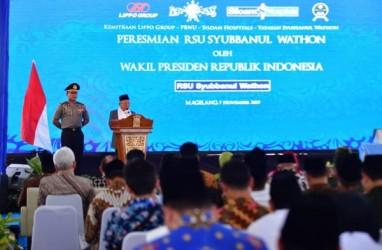 Wapres Ma'ruf Amin Resmikan RSU Syubbanul Wathon