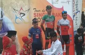 Rustom Cabanilla Lim Jawara Etape Terpanjang Tour de Singkarak