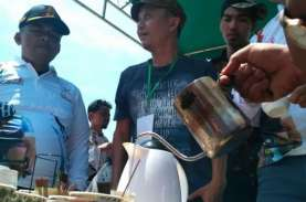 Sarebu Galeh Kopi Gratis Warnai Balap Sepeda Tour…