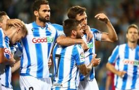 Hasil La Liga Spanyol, Real Sociedad Pimpin Klasemen