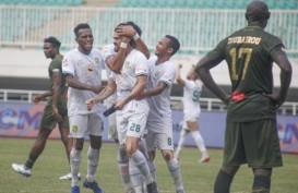 Hasil Liga 1 : Persebaya Rebut Poin di Markas PS Tira Persikabo