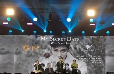 Aktor Korea Selatan Sung Hoon Hibur Penonton 3 Jam Penuh