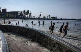 Tiang Pancang Masjid Apung Pertama di Jakarta Mulai Dipasang