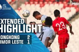 Piala AFC U-19: Hong Kong Tekuk Timor Leste 2-1, Peringkat…