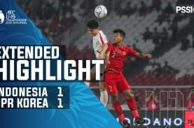 Piala AFC U-19: Indonesia Imbangi Korut 1-1, Lolos…