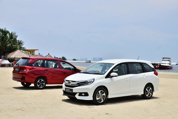 Mobilio menjadi salah satu andalan Honda di pasar otomotif. - HPM