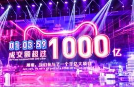 Dalam 2 Jam, Festival Belanja Alibaba 11.11 Raup Transaksi US$18,32 Miliar