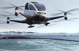 Garuda Bakal Pakai Drone, Tarif Kargo Udara Bisa Lebih Murah 30 Persen