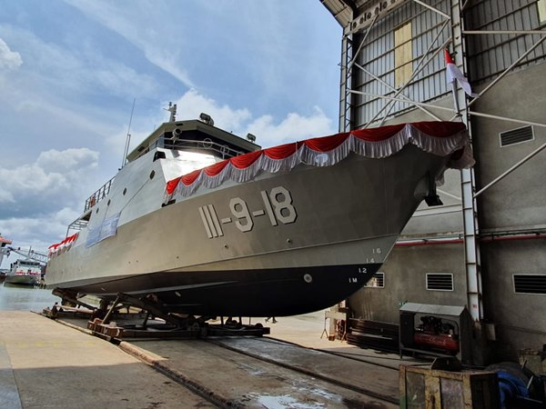 Kapal buatan PT Steadfast Marine Tbk. - Istimewa