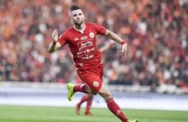 Hasil Liga 1 : Marko Simic Cetak 4 Gol, Persija Sikat Borneo FC
