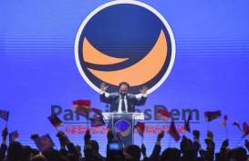Jokowi Disambut Surya Paloh, Hadiri Puncak Kongres Nasdem
