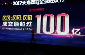 Alibaba Catat Rekor Penjualan US$38 Miliar pada Promo Singles' Day 11.11