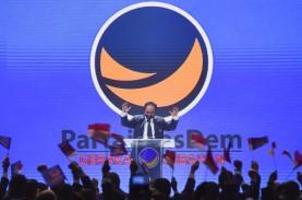 Struktur Partai Nasdem Resmi Terbentuk, Anak Surya…