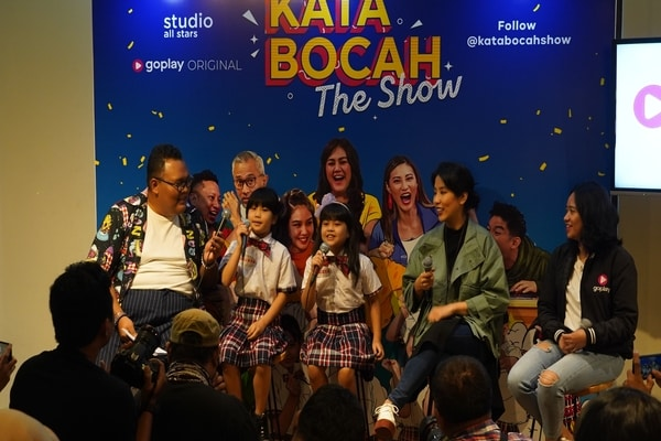 Pemain serial GoPlay Kata Bocah The Show / Dok. GoPlay
