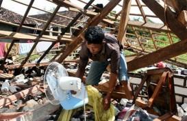 Angin Puting Beliung Terjang Blora, 12 Rumah Rusak Berat