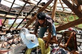 Angin Puting Beliung Terjang Blora, 12 Rumah Rusak…
