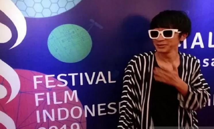 Aming saat ditemui dalam acara malam pembacaan nominasi FFI 2019 di Jakarta, Selasa (12/11/2019). - Antara