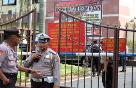 Bom Bunuh Diri Polrestabes Medan, Seorang Polisi Terluka
