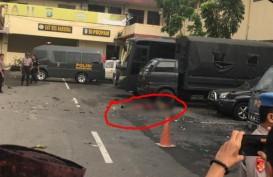 Bom Bunuh Diri di Polrestabes Medan : 1 Tewas, 6 Luka-Luka, 4 Kendaraan Rusak