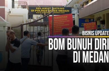Detik-detik Bom Bunuh Diri di Polrestabes Medan