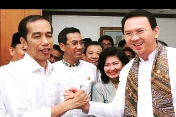 Joko Widodo (Jokowi) dan Basuki Tjahaja Purnama (Ahok). - Instagram @basukibtp