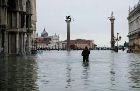 Venesia Terendam Banjir, Pemerintah Setempat Tetapkan Status Darurat