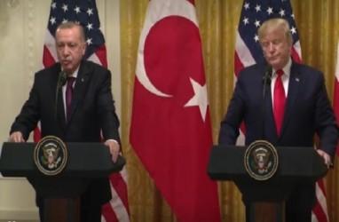 Pertemuan Trump dan Erdogan Hangat di Tengah Kemarahan Kongres