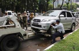 Surabaya Bangun Lahan Parkir Tengah Jalan di Wijaya Kusuma