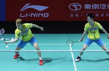 Hasil Perempat Final Hong Kong Open 2019: Kevin/Marcus dan Ruselli Tumbang