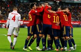 Spanyol Pesta 7 Gol, Swedia & Finlandia Lolos ke Euro 2020