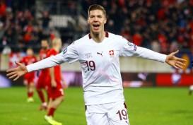 Swiss 99,99 Persen Lolos ke Euro 2020, Denmark & Irlandia Rebutan Satu Tiket
