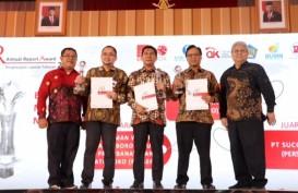 Sucofindo Raih Penghargaan Annual Report Award 2018