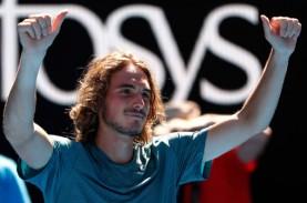 Hajar Federer, Tsitsipas ke Laga Puncak Tenis ATP…