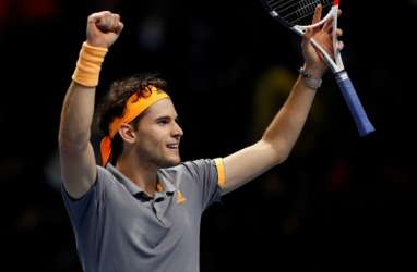 Tundukkan Juara Bertahan, Thiem Tantang Tsitsipas di Laga Puncak ATP Finals