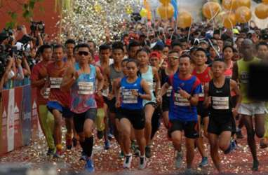 10.900 Orang Pelari 16 Negara Ikut Borobudur Marathon